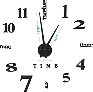 diy large wall clock kit