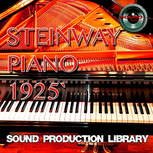 Steinway Piano 1925 - Large, very useful Wave/Kontakt Multi-Layer Studio Samples Library 5.6GB on 2DVD or download