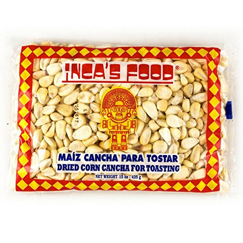 Inca's Food Maiz Cancha para Tostar - Peruvian Dried Corn for Toasting - 15 ounces