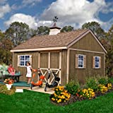 Best Barns New Castle 12' X 16' Wood Shed Kit