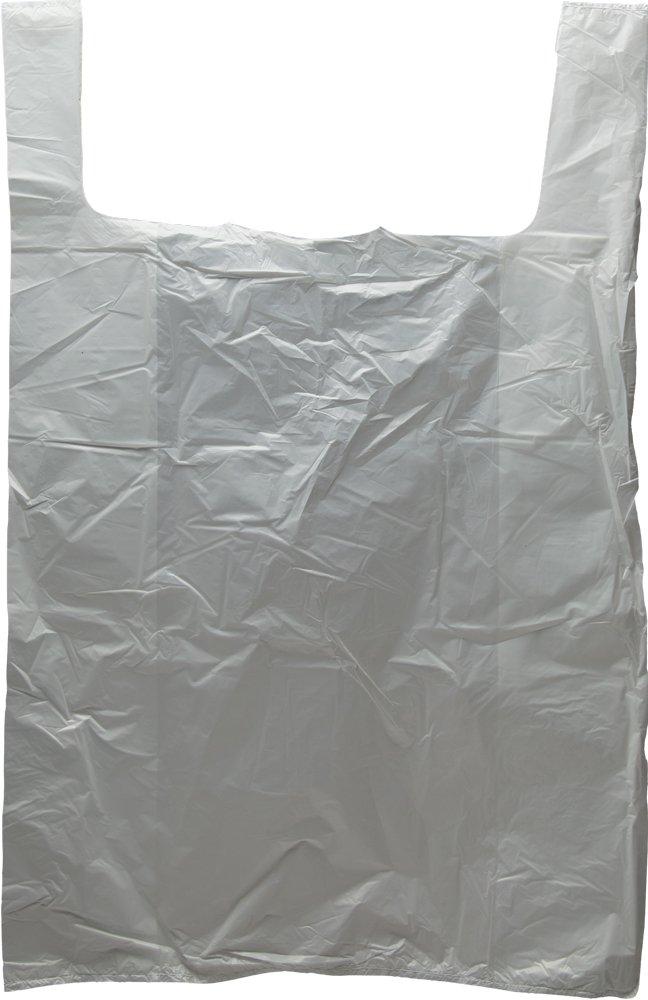 Interplas MB-T-28HD White T-Shirt Cheap SALE Start Bags HDPE 40% OFF Cheap Sale 28-Inch Mil 0.65