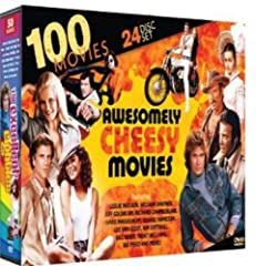 """100 movies on 24 DVDs Over 150 hours of entertainment Designed especially for """"B"""" movie and cult movie enthusiasts Includes a wide variety of genres, including action, thriller, suspense, horror, comedy, drama and sci-fi"""