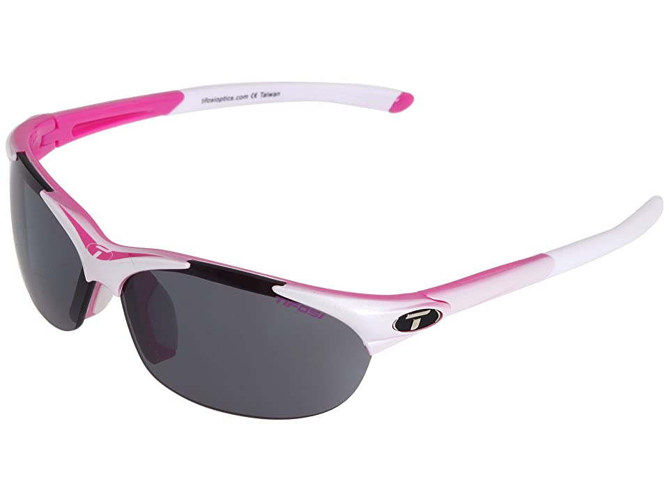 Tifosi Optics Wisptm Interchangeable (Race Pink/Smoke/AC Red/Clear Lens) Sport Sunglasses