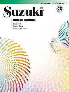 Suzuki Guitar School, Vol 1: Guitar Part (Book & CD)