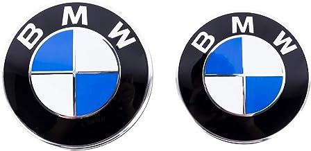 SUMIDA 82MM+73MM Stemma Cofano Fibra di Carbonio Emblema Anteriore Posteriore Badge del Bagagliaio
