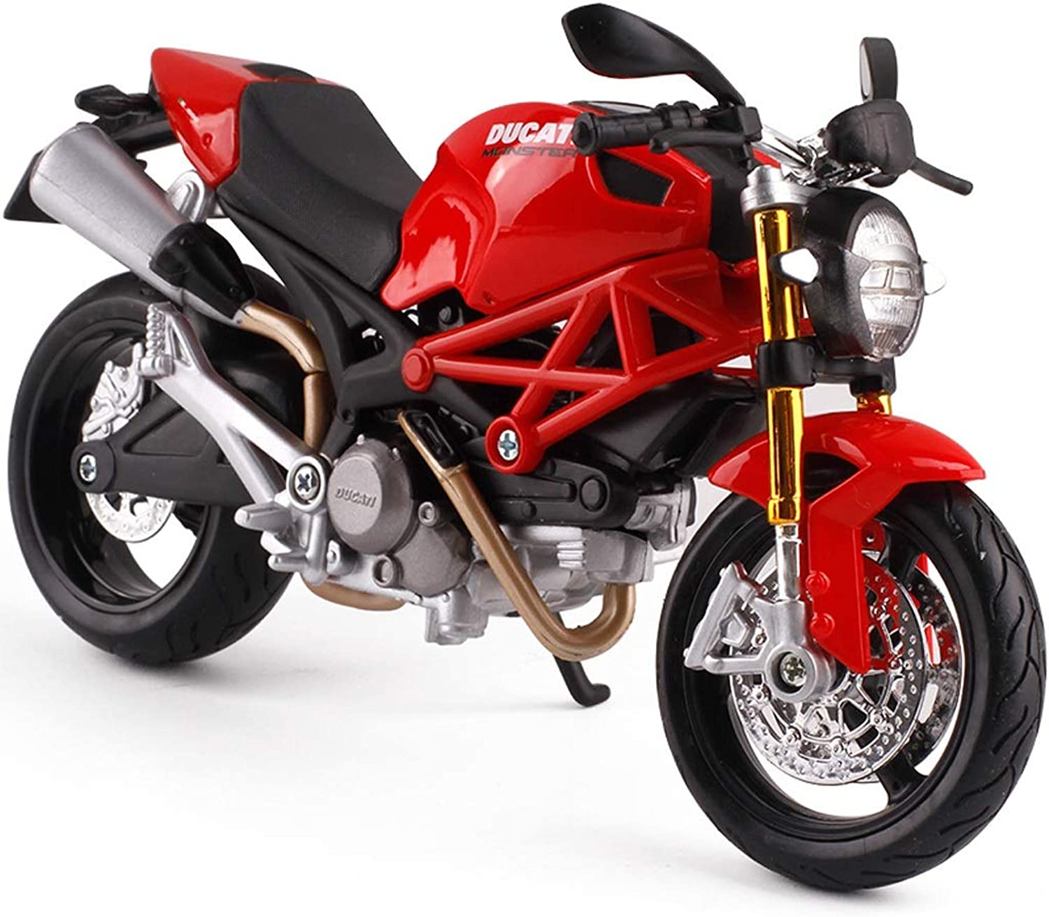 LSXLSD Alloy Model Toy Simulation Ducati Motorcycle Toy Desktop Decoration Gift Pocket Toy