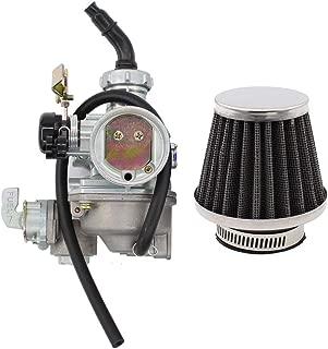 Carburetor Cable Choke Carb w/Air Filter for Honda FourTrax 125 TRX125 ATV ATC125M