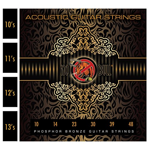 10's Acoustic Guitar Strings for Warmer Tone, Balanced Sound and Great...