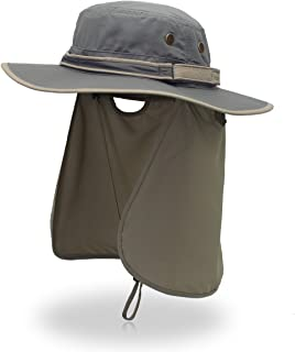 Sun Hat with Neck Flap UV Protection Outdoor Caps Fishing Hat Hunting Desert Beach for Men & Women