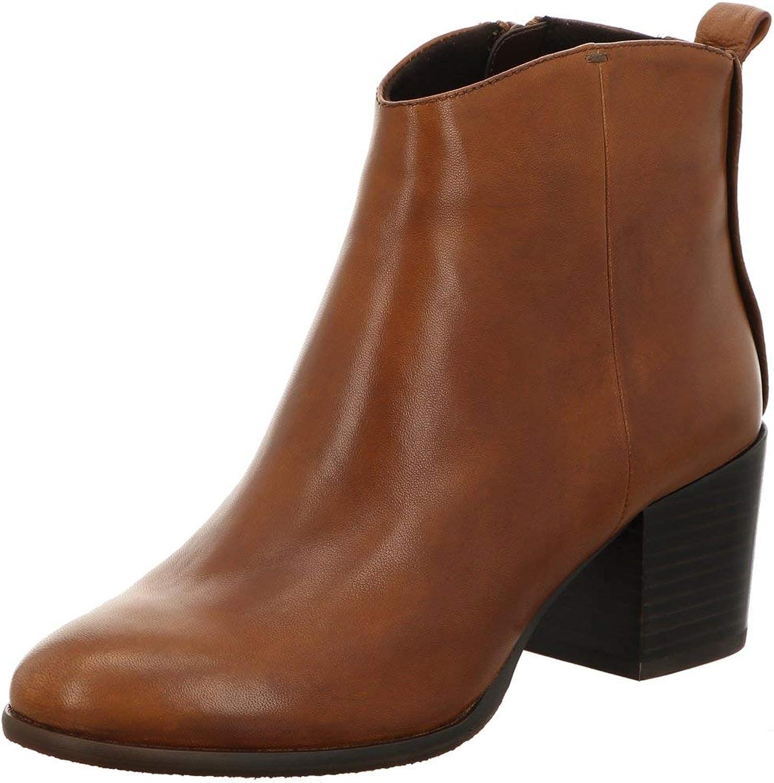 SPM schuhe  Stiefel Damen Stiefeletten Linden Ankle Stiefel 25289961 braun 721752