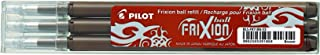 Pilot Frixion 0.7mm Ink Refills for Frixion Pens - Three Pack (Brown)