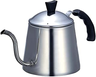 パール金属 コーヒー ドリップ ポット 1.1L IH対応 ステンレス マイビーンズ H-990