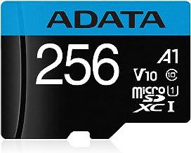 ADATA 256 GB Tarjeta de Memoria Micro SDXC con Adaptador Color Negro con Azul A1 (Clase 10)