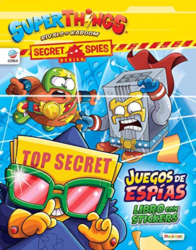 Libro de Stickers Superzings Secret Spies Series - España
