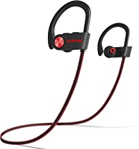 LETSCOM Bluetooth Headphones IPX7 Waterproof, Wireless Sport Earphones, HiFi Bass Stereo..