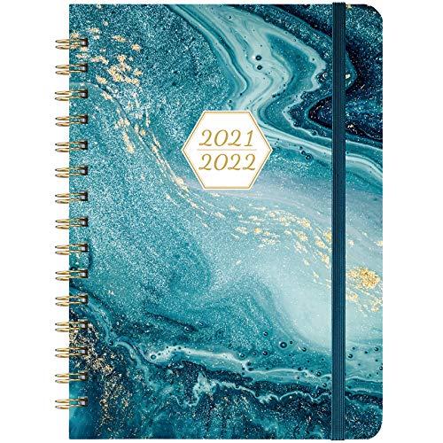 Agenda 2021 2022 - A5 agenda escolar agenda profesor 2021-2022 de julio de 2021 a junio de 2022, 15 x 21 cm