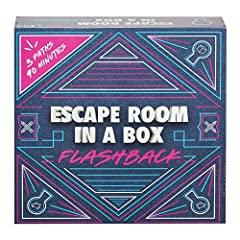 To beat this exciting escape room game, you and your friends have 90 minutes to decipher clues, solve puzzles, crack codes and flee the mad scientist werewolf, Doc Gnaw! Escape Room in a Box: Flashback challenges your team of 2 to 8 players to work...