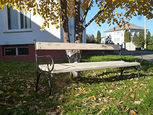 Habrita - HABRITA - Banc de jardin ALMA en frêne 4 personnes