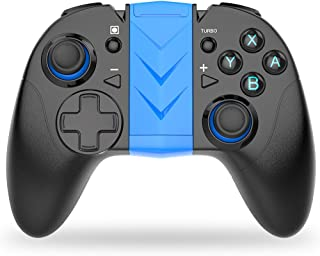 Switch Pro Controller for Nintendo ,BEBONCOOL Bluetooth Wireless Game Controller with Adjustable Motor Vibrating for Nintendo Switch, and Android Wireless Controller