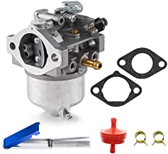 Carbpro AM123578 Carburetor Carb Replacement with Gasket Kits for John Deere 2150 285 320 18HP Lawn Tractor Mower with Kawasaki FD590V Engine Replace Modles # AM123578 15003-2620