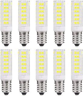Wulun Pack de 10 E14 7W Bombilla LED Non Regulable 6000K Blanco Frío 650 Lumens Super Brillante Ahorro de Energía Bombillas AC 220 – 240V