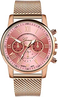 Multiple Styles of Color Luxury Quartz Sport Stainless Leather Wrist Watch