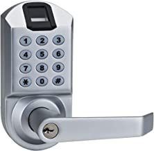 SCYAN X7SC Keyless Keypad Door Lock with Fingerprint Scanner