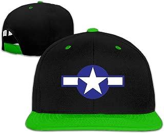 Usa Air Force Logo Hip-Hop Snapback Hats One Size Unisex