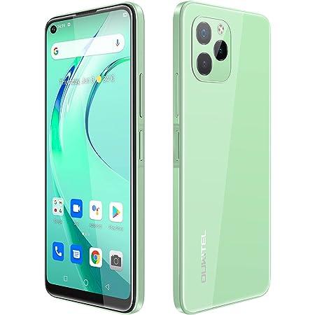 Mobile Phone Sim Free Unlocked OUKITEL C21 Pro(2021), Android 11 Sim-Free & Unlocked Mobile Phones 6.39 Inch HD+,21MP Rear Camera 4GB+64GB(SD 256GB) 4000mAh Battery 4G Dual SIM Smartphone Green