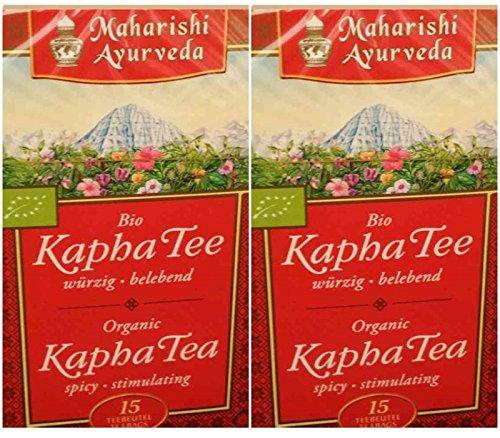 Maharishi Ayurveda Bio Kapha Tee im Doppelpack 30 x 1,2g Beutel