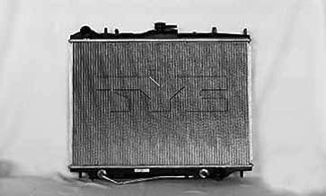 2002 isuzu axiom radiator