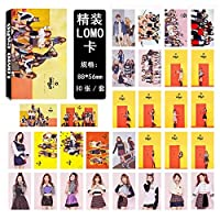 30ピース/セットKpop Twiceフォトカードセット新しいアルバムKNOCK KNOCK HD良質ファッション素敵なTWICE Kpop写真カード用ファンコレクション