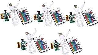 Homyl 5x 16 Cores USB Touch Control 3D Impressão de Cor Mudando de