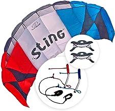 FLEXIFOIL 2.6m Power Kite Sting Sport Foil   Kids & Adult Kiting   Beach Summer Trick Kites   Outside Stunt Toy   Outdoor ...