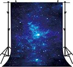 FLASIY Night Starry Sky Backdrop 5x7ft Space Theme Photography Background Kids Baby Party Photo Backdrops Video Studio Props GEAY636