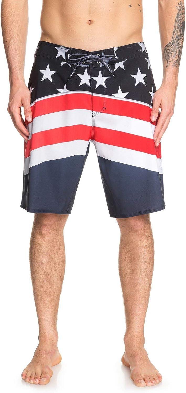Memphis Free shipping on posting reviews Mall Quiksilver Men's Highline Freedom 20 Boardshort Swim Trunk