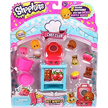 Shopkins Chef Club Hot Waffle Collection | Shopkin.Toys - Image 1