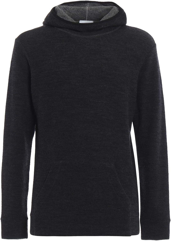 Dondup Men's UF550KF0155002DU997 Grey Wool Sweatshirt