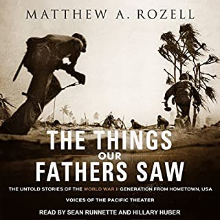 The Things Our Fathers Saw audiobook cover art