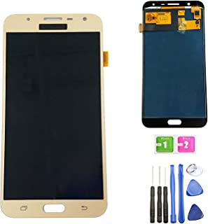 Ubrokeifixit Compatible Touch Panel Screen Digitizer LCD Display Screen Assembly Replacement/(TFT-Material) for Samsung Galaxy J7 Neo 2017