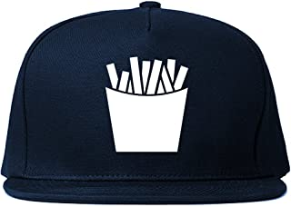 French Fry Fries Chest Mens Snapback Hat Cap