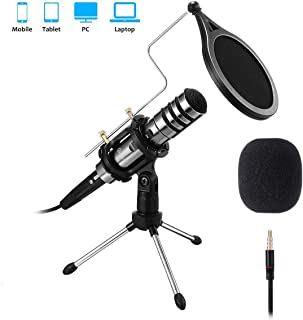 Best usb condenser microphone with pop filter Reviews