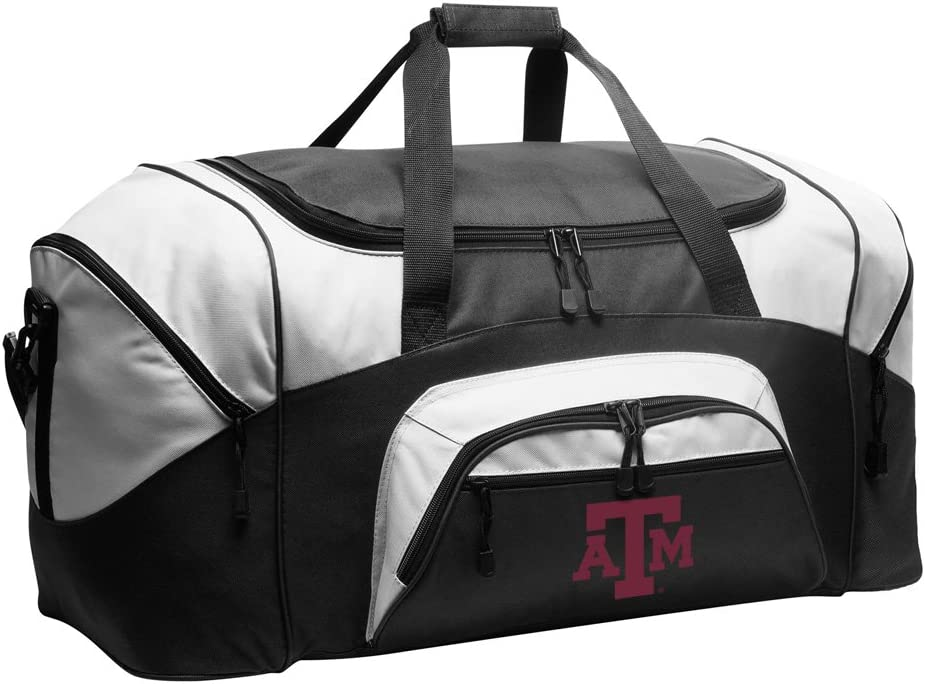 LARGE Texas AM Aggies Duffel Bag New Shipping Free or Suitcase Gym Arlington Mall