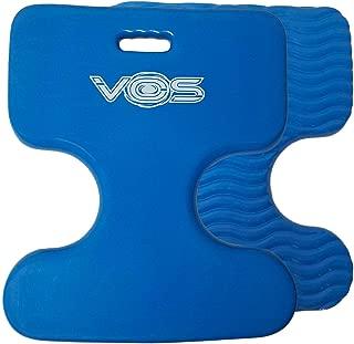 Vos Oasis Premium Water Saddle Floating Pool Toys Lake Summer Water Float Saddle 2 Pack (Bahama Blue)