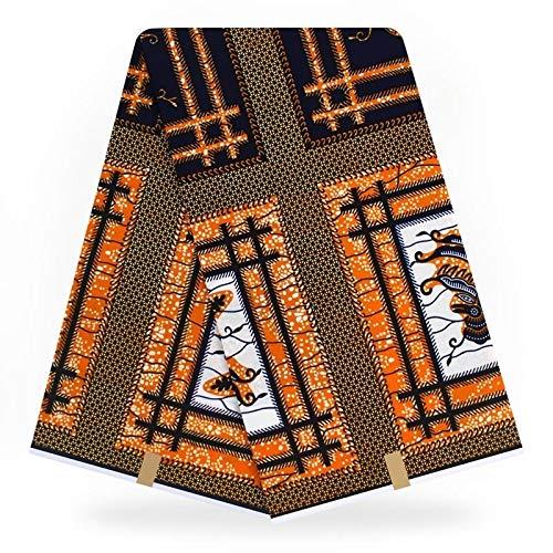 Fabric African Super Print African Guaranteed Dutch Real Fabric 100% Cotton Nigeria Hollandais Wax Ankara Fabric|by KALLAR