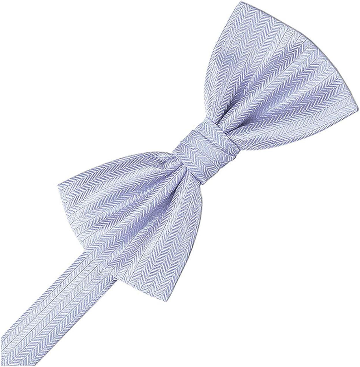 Cardi Herringbone Bow Tie