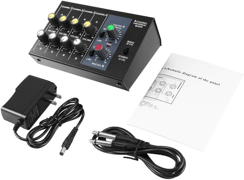 Sunnyday 8-Kanal-Digitalmischpult Karaoke Universal Mixer Console Mono   Stereo B07NWBFNYY  Maßstab ist der Grundstein, Qualität ist Säulenbalken, Preis ist Leiter | Sonderkauf