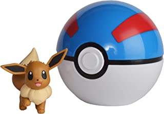 Pokémon Clip 'n' Go - Eevee & Great Ball