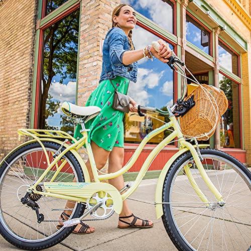61aRfOwwP7S. SL500 Schwinn Perla Womens Beach Cruiser Bike