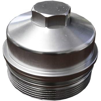 Ford 6.0 Powerstroke Billet Oil Filter Cap